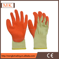 latex coated knit gloves for construction site
