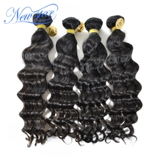New Star No shedding&no tangle loose wave 100% human virgin brazilian remy hair extenstion, lot of hairs in stock