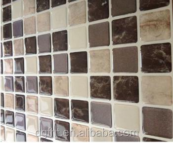 3D Gel 2016 New Mosaic Waterproof Kitchen Wall Tile Stickers/mosaic Tile  Stickers 2.0