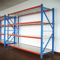 Warehouse Storage Long Span Shelving Mid-duty Rack