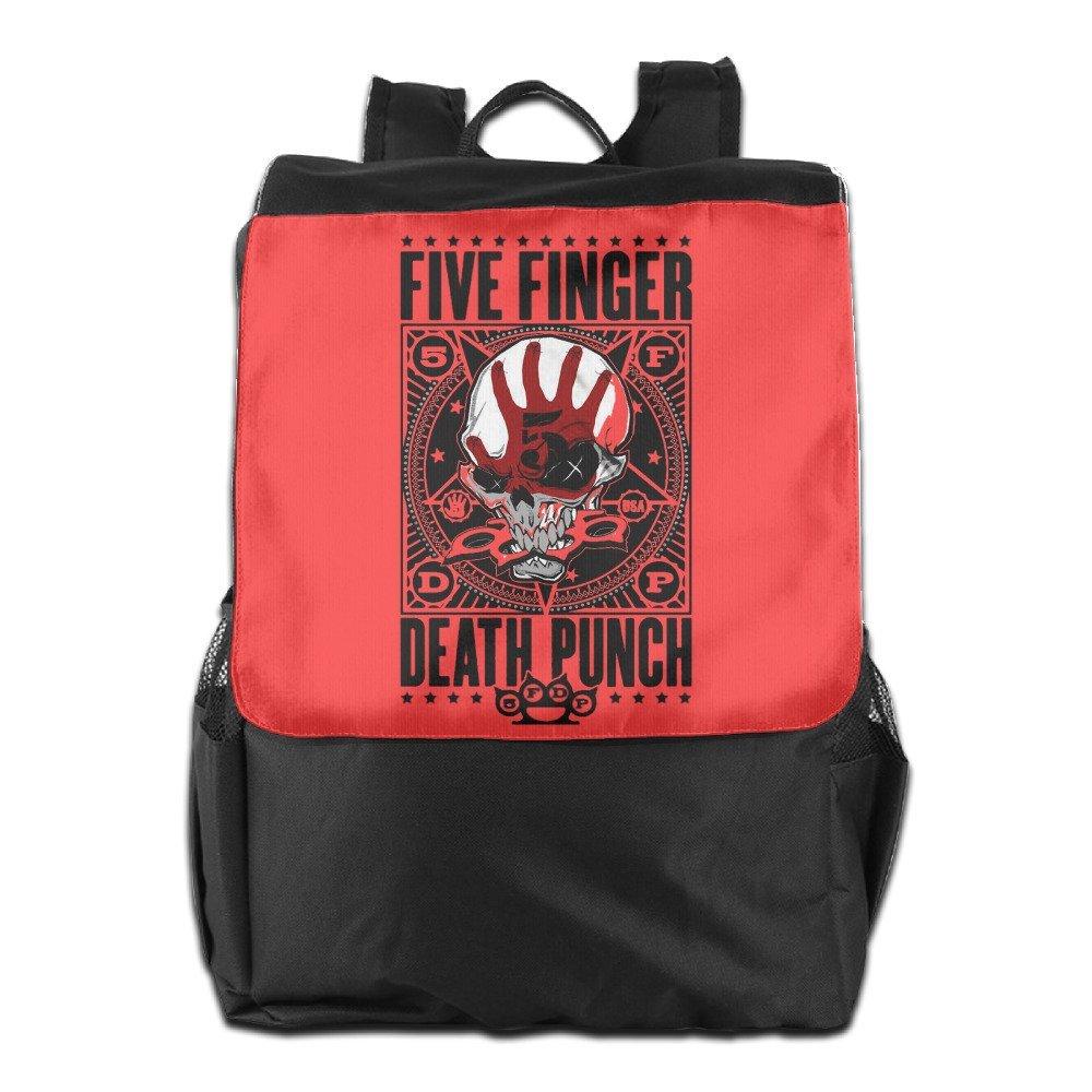 Toyou Five Finger Death Punch Punchagram Durable Backpack Travel Work Hiking Knapsack