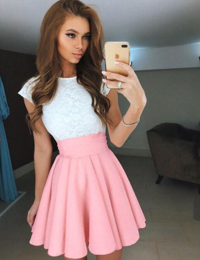 Venta al por mayor vestidos fiesta faldas-Compre online los mejores ...