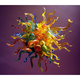 Multicolor Led Light Dale Chihuly Hand Blown Glass Chandelier Home DIY Villa Decor Artistic Chandeliers