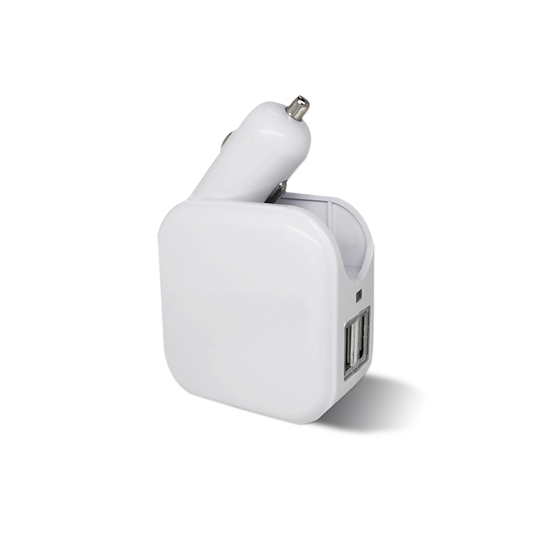 Для мобильного телефона 2 в 1 зарядное устройство для дома и автомобиля с usb-адаптером