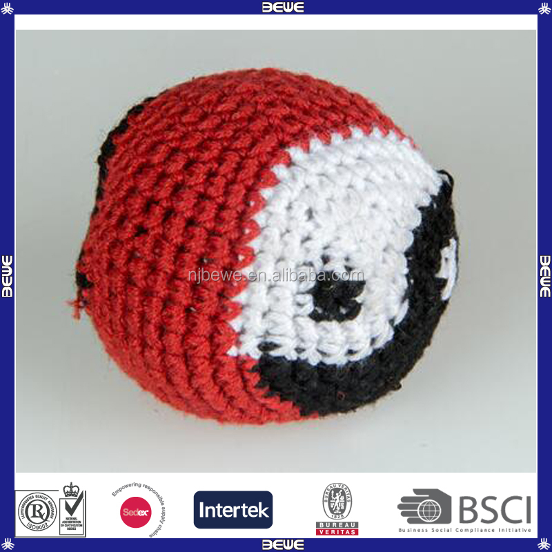 Lovely Pattern Premium Knitted Woven Hacky Sack Balls
