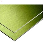 1220*2440mm aluminum composite board wall cladding best price ACP standard size aluminum composite panel