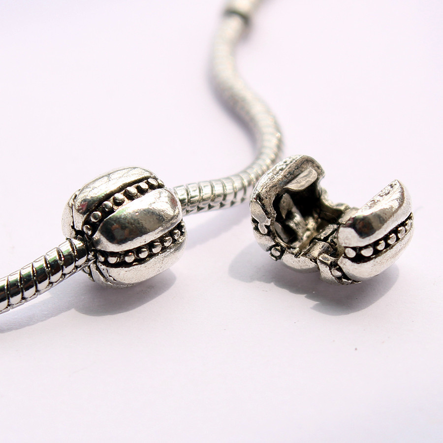 2pcs Free Shipping Fits Pandora Charms Bracelets Safety