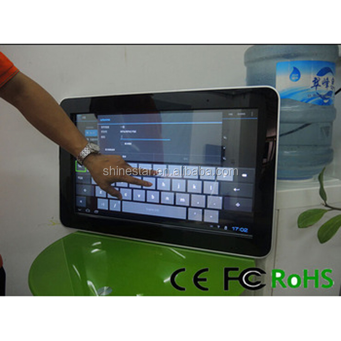 1920*1080 21.5 inch led backlight pos touch screen lcd pop up display