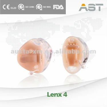 """Lenx 4"" Open Fit CIC Digital Best Hearing Aid"