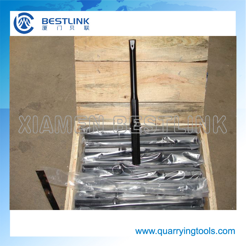 Quarry Rock Drilling Plug Hole Rod