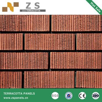 Clay Brick Architectural Facade Terracotta Wall Siding