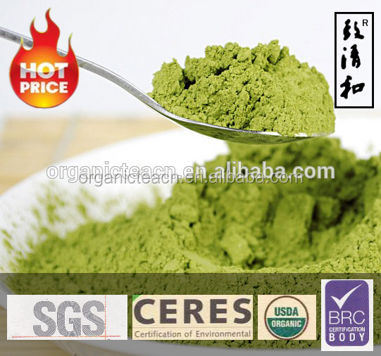 100% pure natural instant powdered organic green tea matcha from China