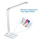 QI Wireless Charging LED Desk Lamp Table Lamp With USB For Iphone x