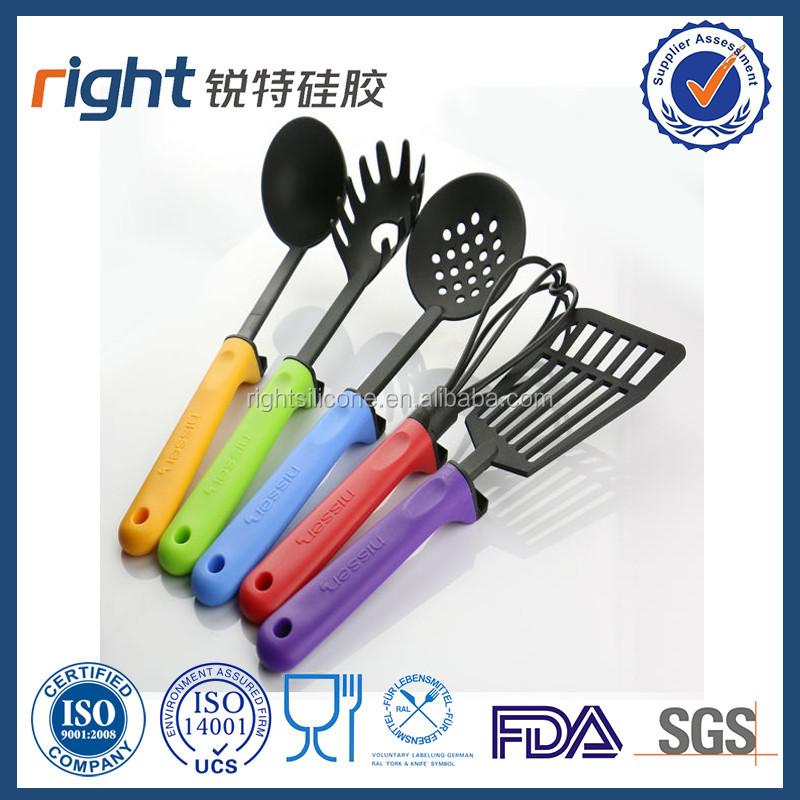 Hotsale alimentos grado silicona utensilios de cocina set juegos de vajilla identificaci n del - Utensilios de cocina de silicona ...