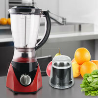 Jialian Cheap Price Unique Design JL-B311 2 in 1 PC Jar 2 Speeds Electric Plastic Blender Mixer