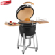 Ceramic Clay Charcoal Euro BBQ Egg Grill