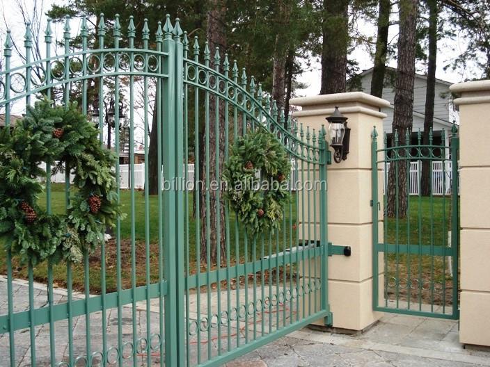 Antique Cast Iron Square Tube Gate Design