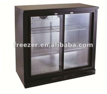 Hot Sale Double Door 228l Under Counter Bar Fridge Buy