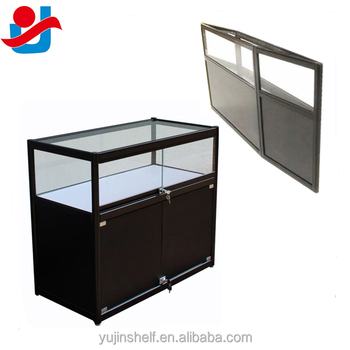 Portable Exhibition Counter : Portable exhibition table hook and loop receptive fabric