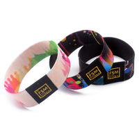 Wholesale Cheap Polyester Heated Elastic Wrist Band