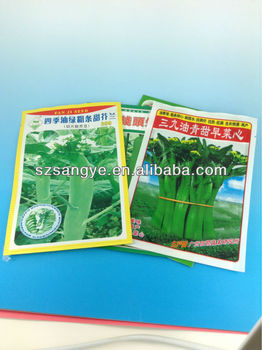 Empty Vegetable Seed Packets/ Poly Seed Bags