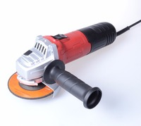115mm/125mm Small Electric Angle Grinder 750W - 900W with Top Safety Switch and Optional Variable Speed