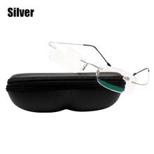 SOOLALA, прозрачные линзы, без оправы, очки для чтения, для мужчин и женщин, высокое качество, удобный ультра-светильник TR90, полимер, очки для пре...(Китай)