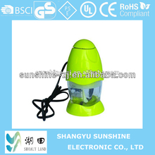 Mini electric food processor/fruit processor/fruit juicer blender in kitchen