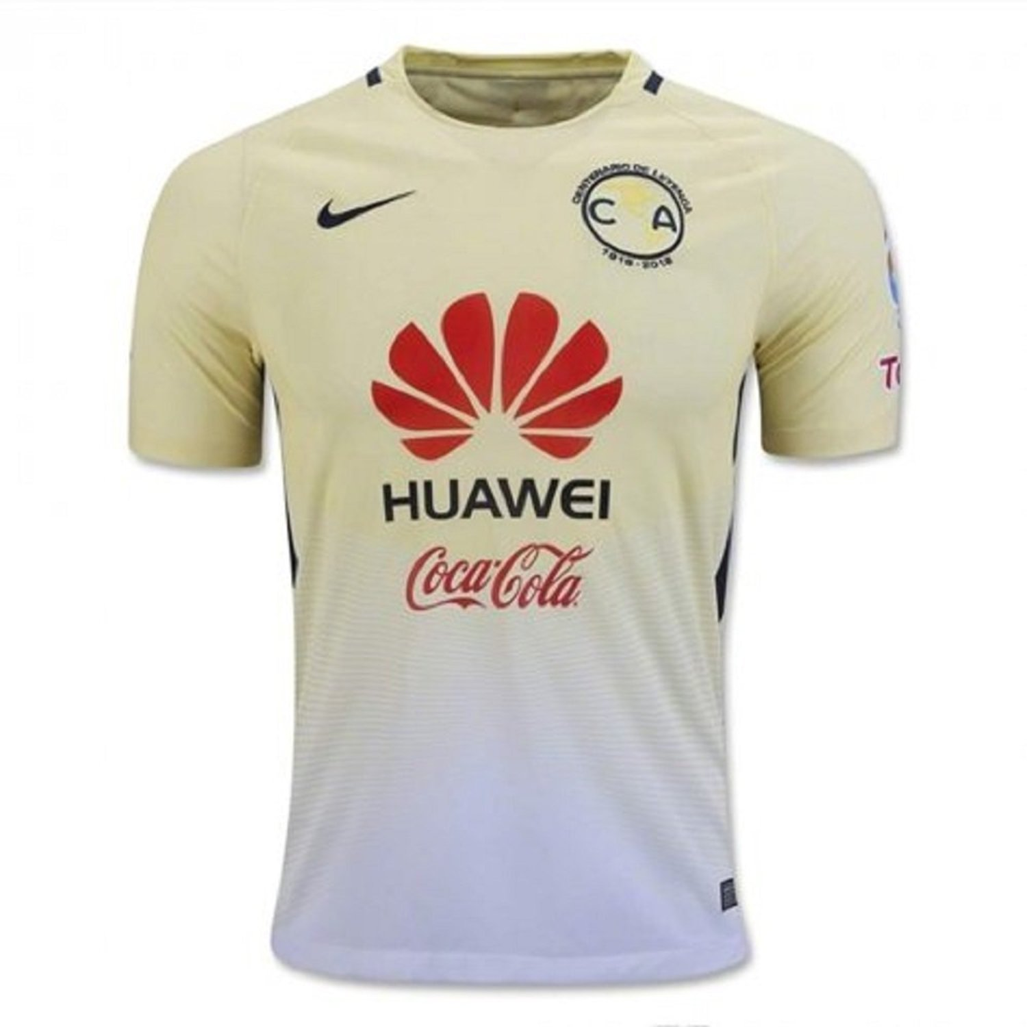 eda17b7b9be3 Get Quotations · Nike Club America Home Soccer Jersey 2016 17