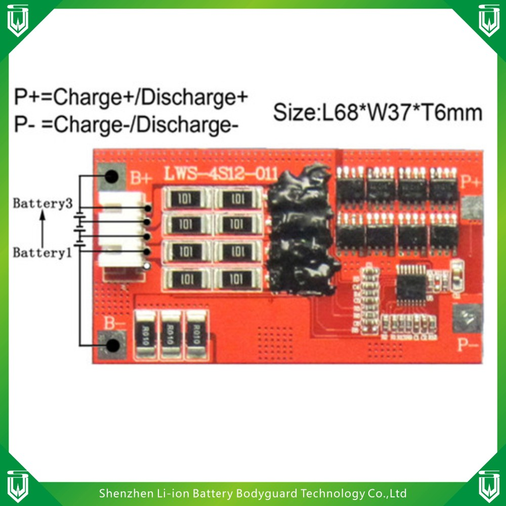 Lithium Ion Battery Printed Circuit Board Li Charging Rechargeable Lithiumion Batteries With Protection Pcb And Discharging Protect