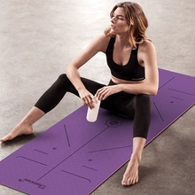Stampa personalizzata Anti-slip Pilates Palestra <span class=keywords><strong>di</strong></span> <span class=keywords><strong>Yoga</strong></span> Mat/<span class=keywords><strong>Eco</strong></span>-Friendly <span class=keywords><strong>Stuoia</strong></span> <span class=keywords><strong>di</strong></span> <span class=keywords><strong>Yoga</strong></span> del TPE