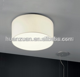 round ceiling mounting cloth bucket ceiling lamp ,modern pendant lamp,led light source