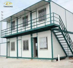 Domestic first Popular abroad finished container house