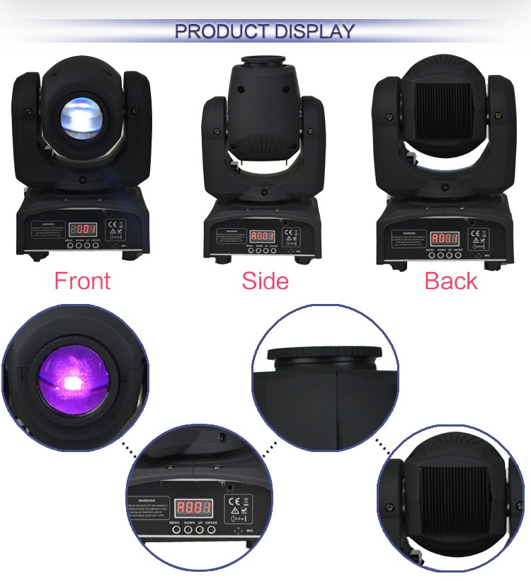 Hot selling KTV Bar Pub mini 12w spot led moving head light