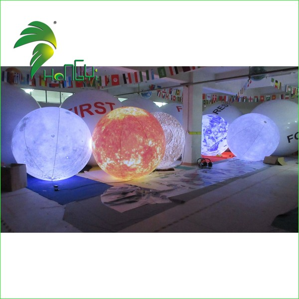 Inflatable LED Planet Balloons 1