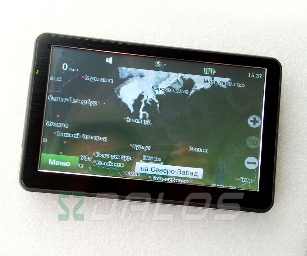 7 Inch Car Truck Gps Navigation 128mb 8gb 7 Quot Gps Navigator