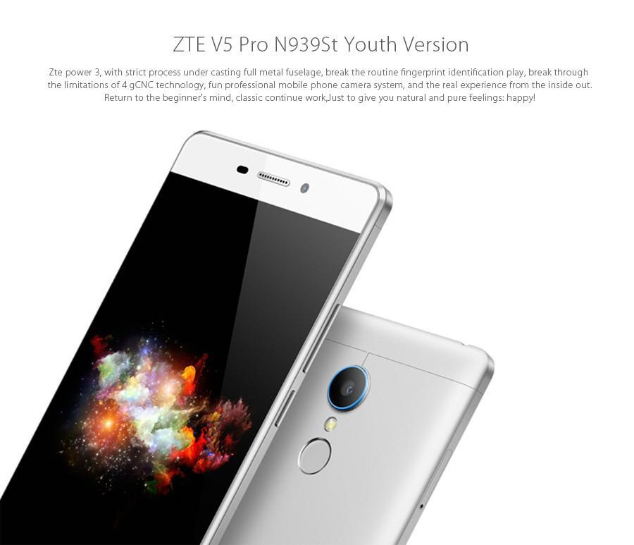 Original Zte V5 Pro N939st 4g Lte Mobile Cell Phone 5.5