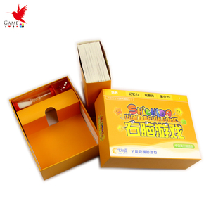 Manufacture custom paper card game printing for kids