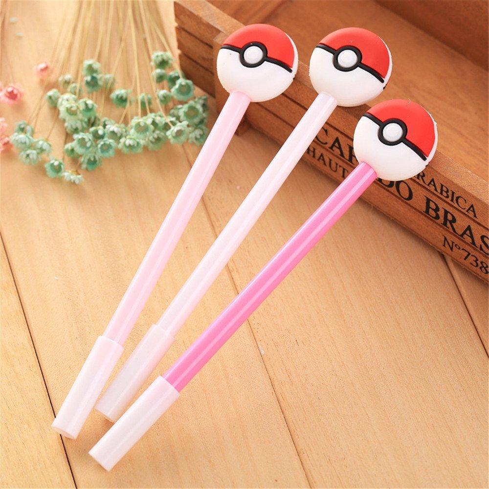 buy katoot 8 pcs lot kawaii poke ball gel pens for writing cute