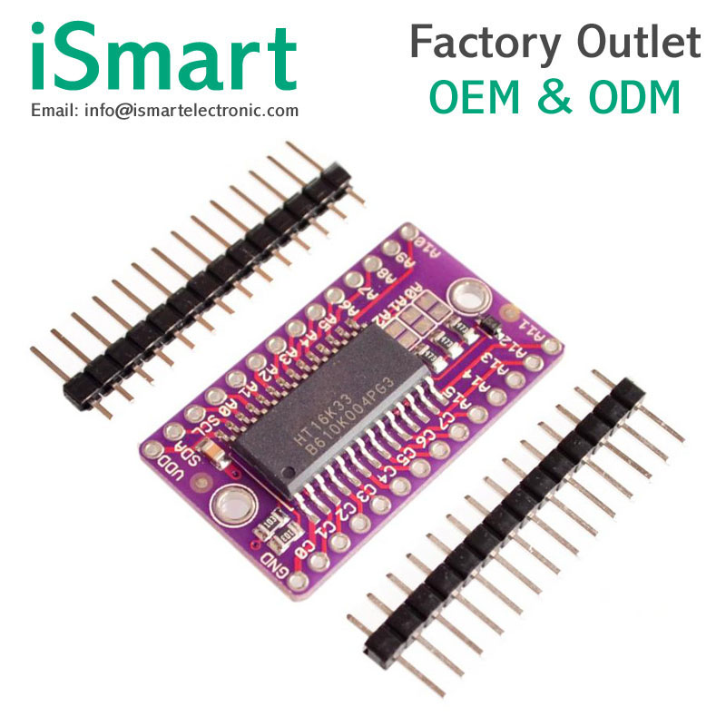HT16K33 LED Dot Matrix Drive Control Module Board for Arduino