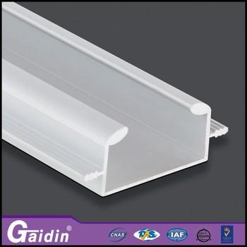 Powder Coated Wood Finish Aluminum Extrusion Profile