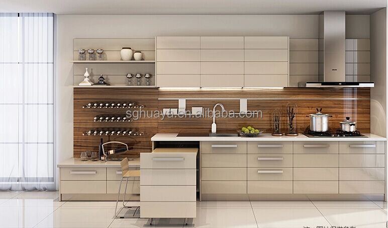 Interior Readymade Kitchen Cabinets european style modern flat pack kitchen ready made cabinetshigh quality melamine mdf