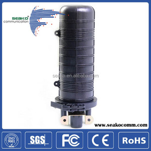 ABS , optic fiber cable in-line joint closure , 12 to 96 core, 4ports, FOSC