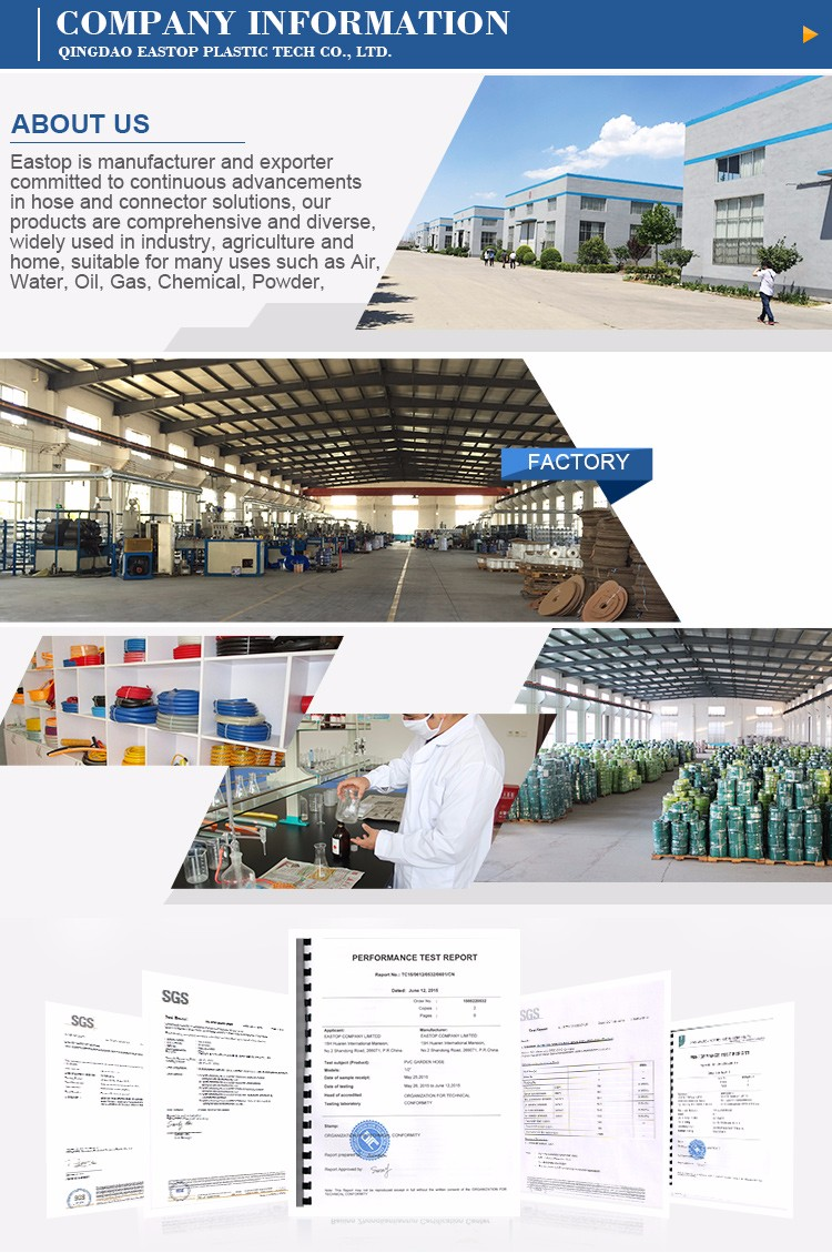 Factory Price Agricultural Irrigation Flexible Pvc Lay Flat Water ...