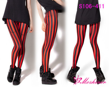 23c0957a4cf69 HOT Sexy Fashion 2014 Pirate Leggins Galaxy Pants Digital Printing  BEETLEJUICE RED LEGGINGS For Women S106