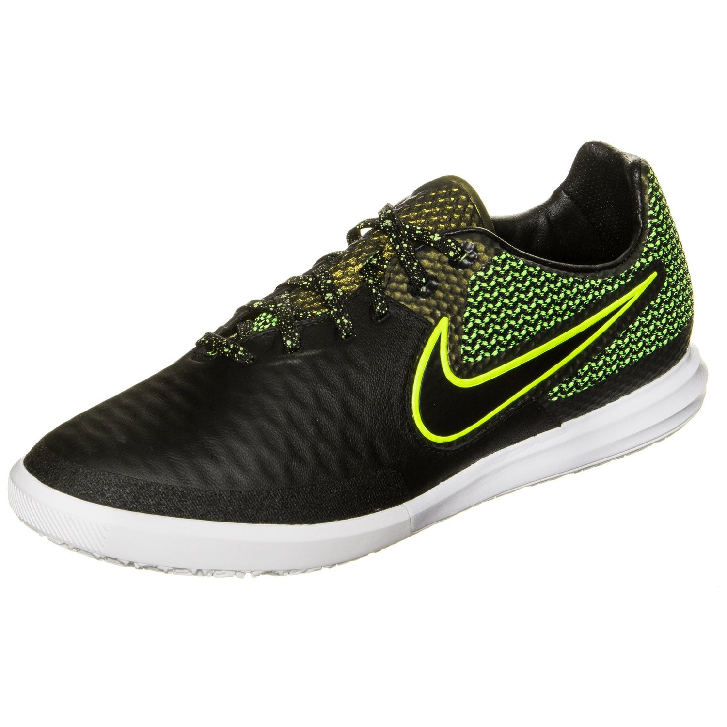 Get Quotations · Nike Magista X Finale IC - Black/Black-Volt-WHITE-Volt -