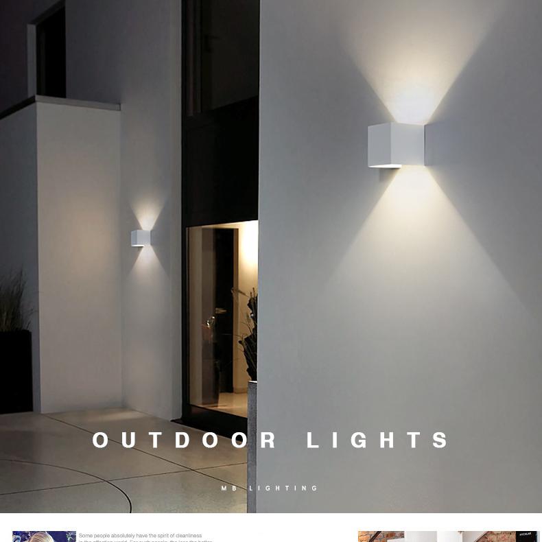 Wall Mounted Led Light Die Casting Aluminium Ac85 265v 6w Outdoor Lampu Buy Wall Mounted Lampu Led Lampu Lampu Product On Alibaba Com