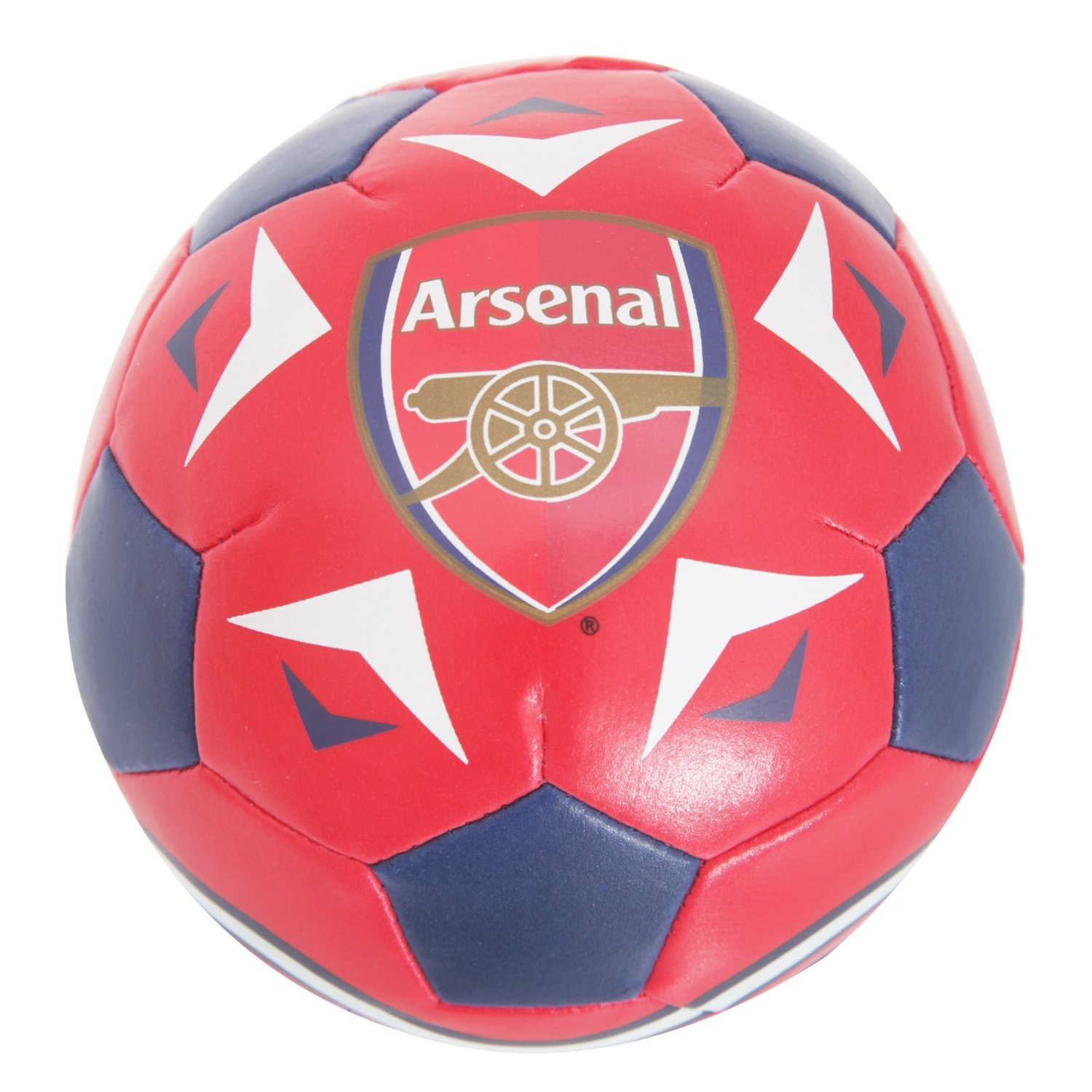 Arsenal FC Official Football Crest Mini Soft Ball