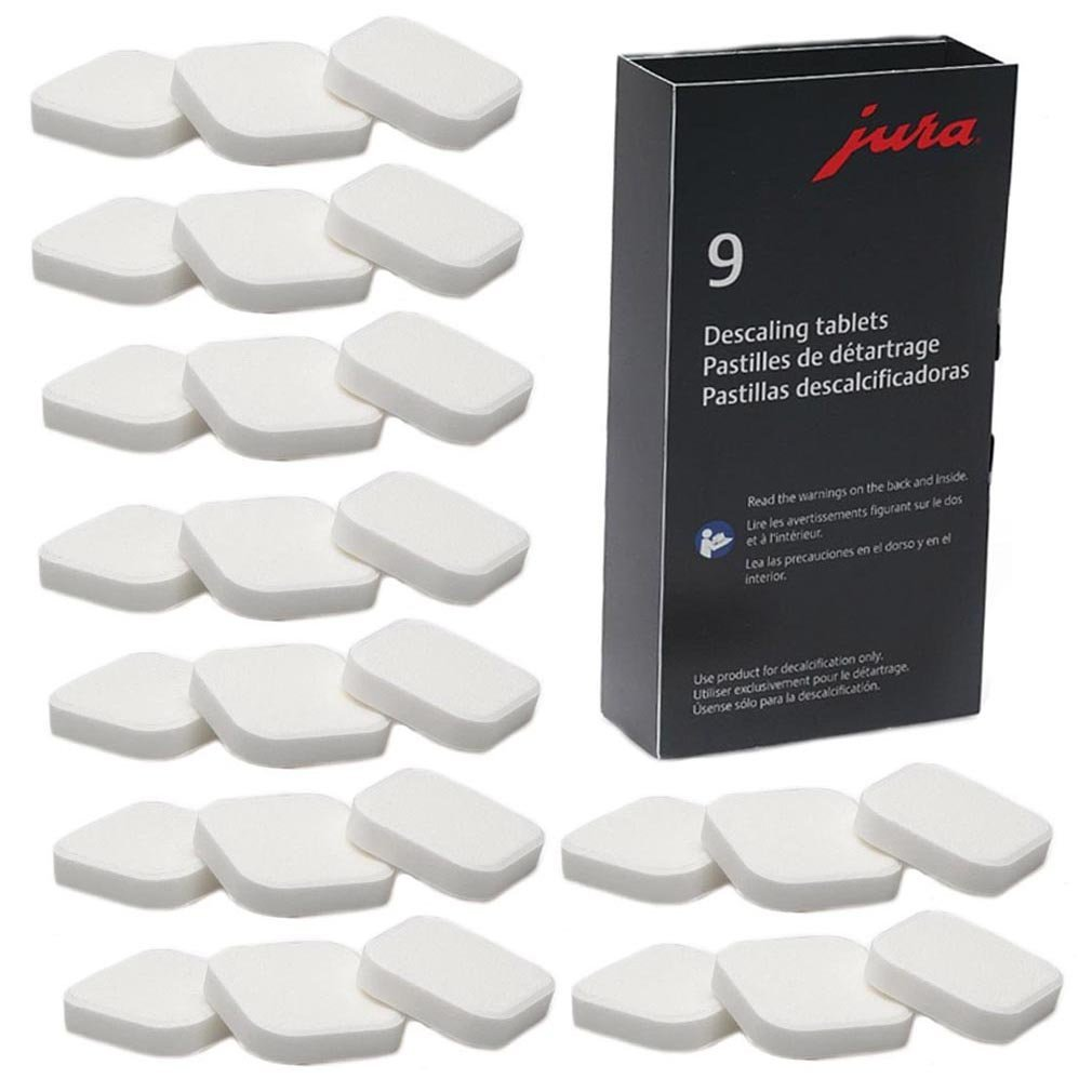 Capresso Decalcifying Tablets for All Jura Automatic Coffee Centers (3-Pack)