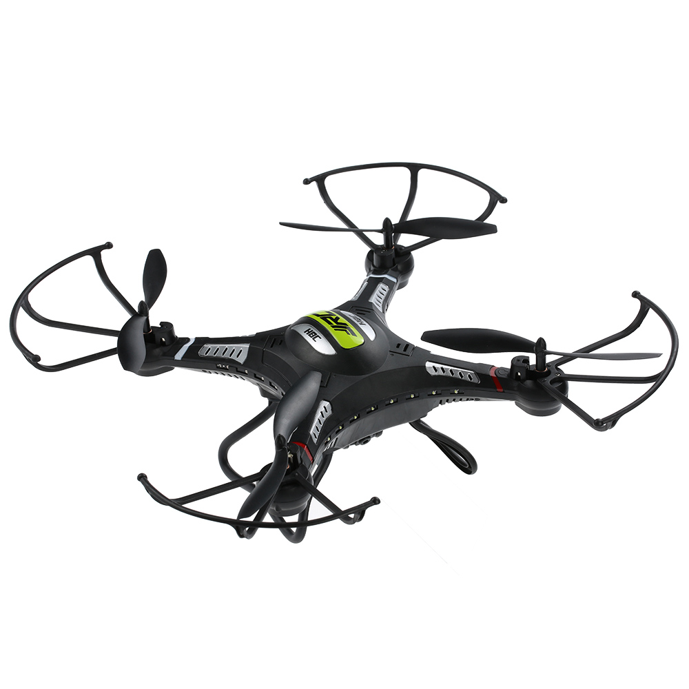 Original JJRC H8CH 2.4G 4CH 6-axis Gyro RC Drone 2.0MP HD Camera RTF RC Quadcopter Set-height 3D-flip outdoor rc helicopter